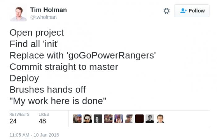 goGoPowerRangers()