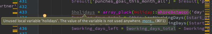 Programmers life described in one variable