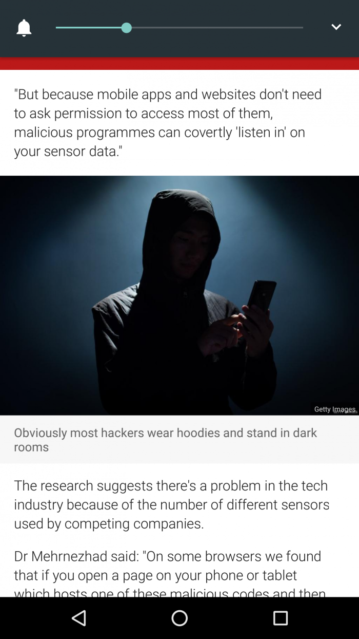 BBC roasting their own choice of an image to depict a hacker