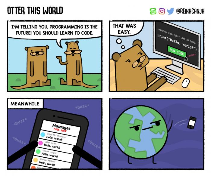 [reikacanja] Hello World