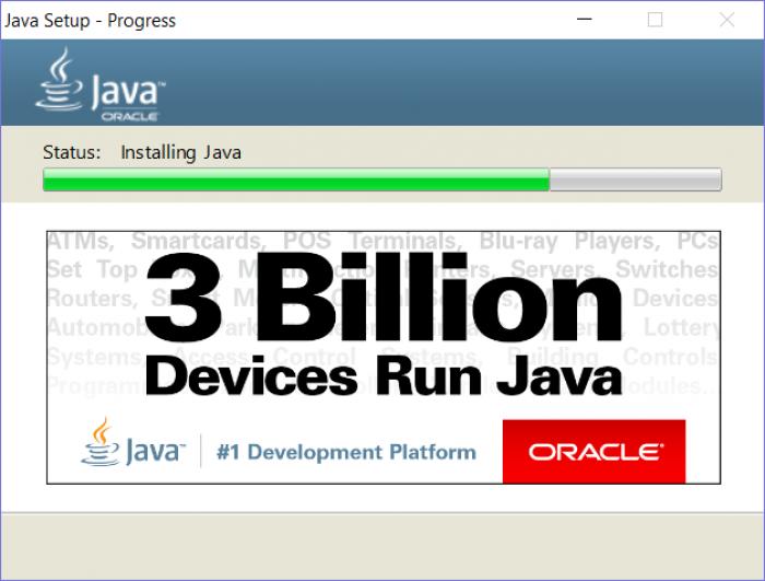 Latest updates, still 3 billion devices