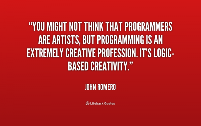 Are programmers artists?