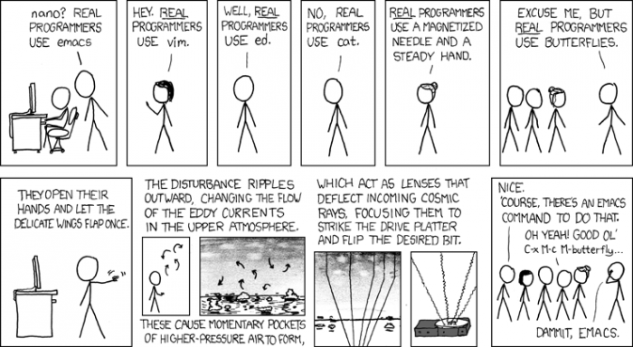 [xkcd] Real Programmers