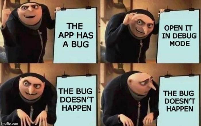 I Hate Heisenbugs