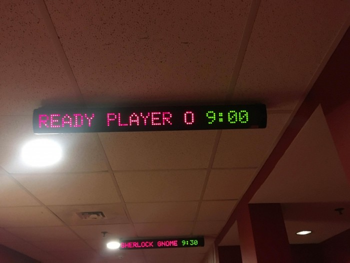 When your theatre knows how to count