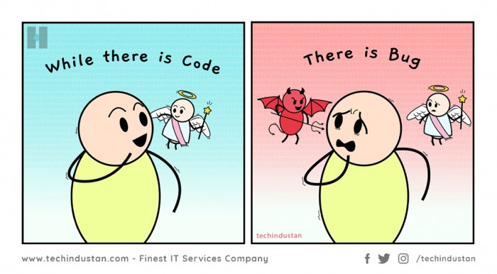 While There is Code There is Bugs