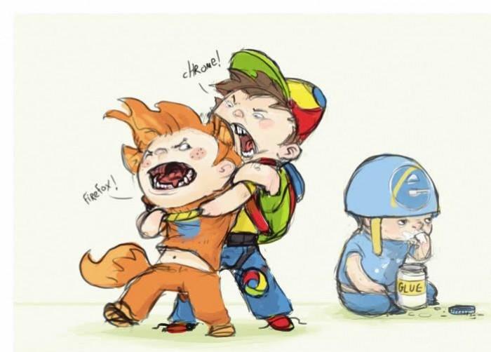 Chrome Vs Firefox Whil...