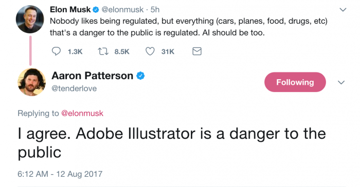 AI is dangerous