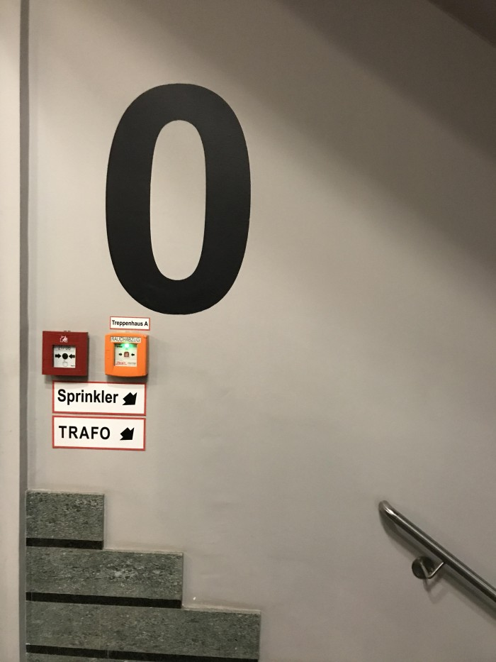 How ground floors should be numbered
