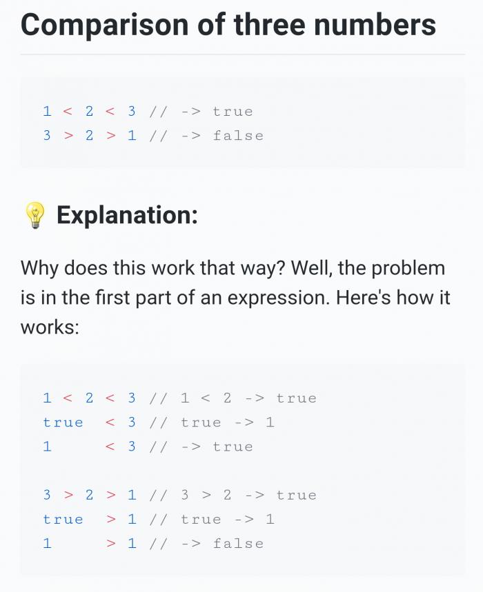 Nice work JavaScript