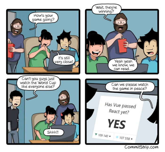 [commitstrip] The most exciting game
