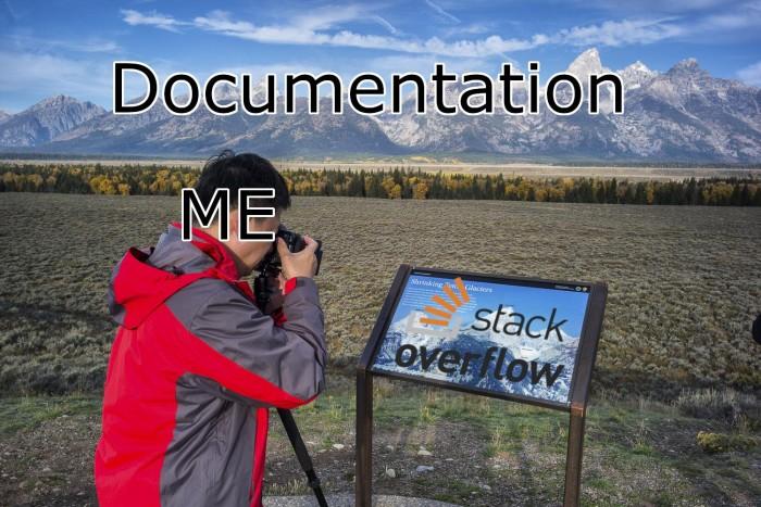 Documentation vs StackOverflow