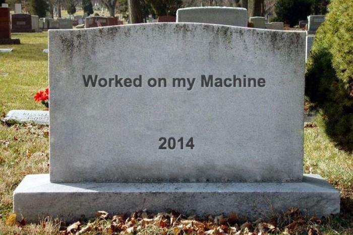 Worked on my machine
