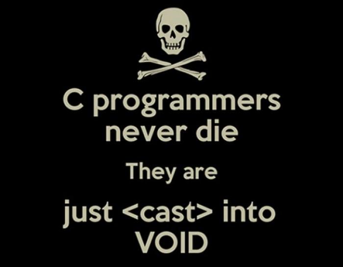 C programmers never die