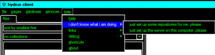 When you don't want the user messing with config menus...