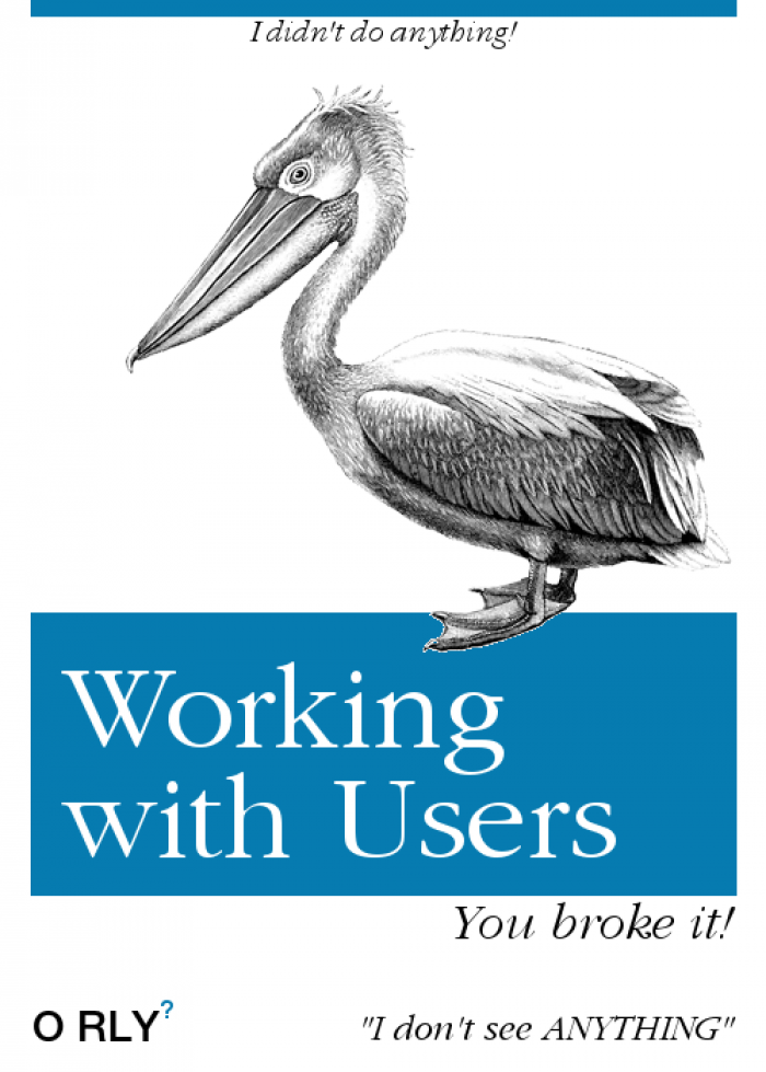 Working with users