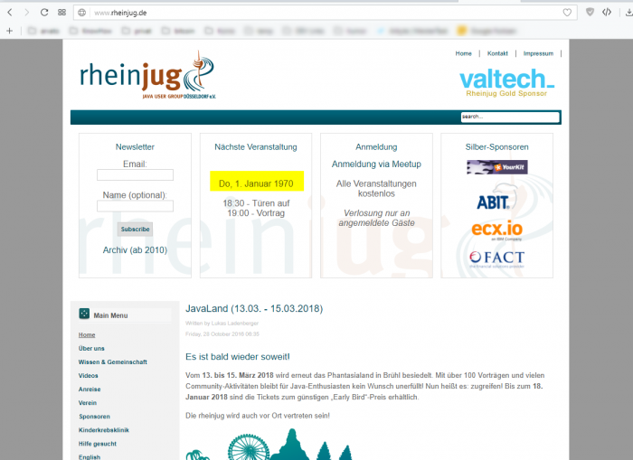 German JUG has its struggles with Java Date