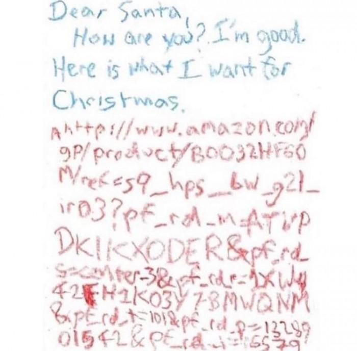 Santa needs an email address