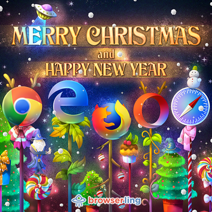 [browserling] Browserful Christmas and Browserful New Year 2018!