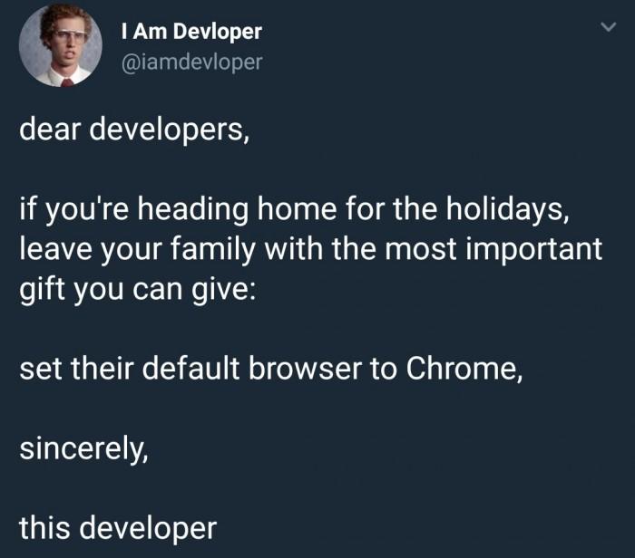dear developers
