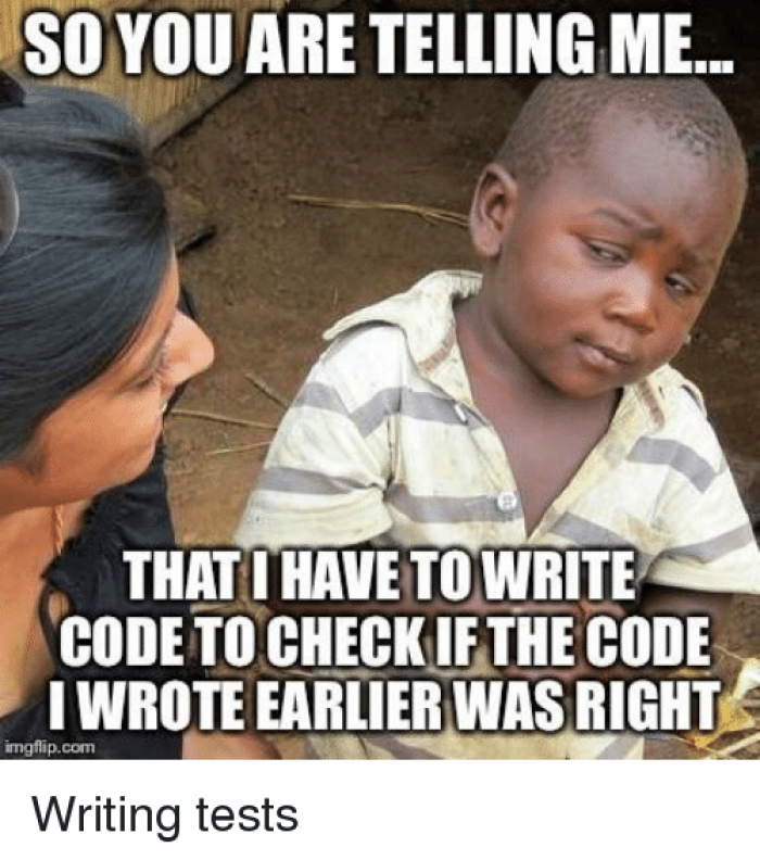 Writing tests