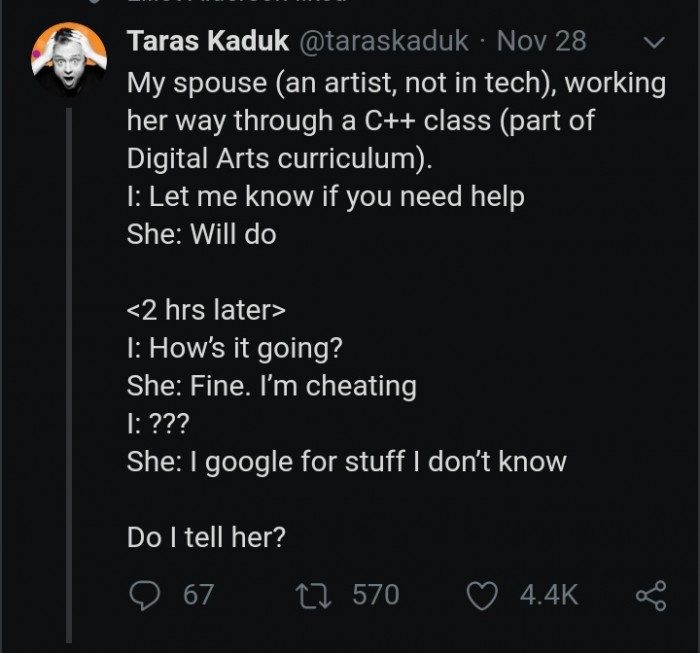 Cheating in a C++ class