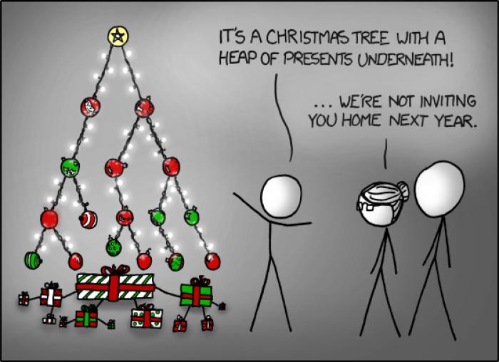 [xkcd] Christmas Tree