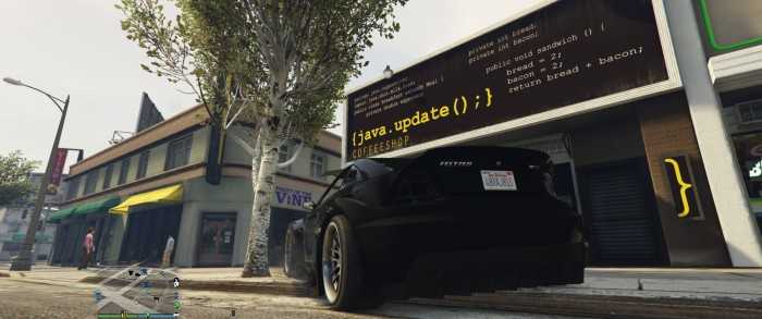 Just a Java Package out in Los Santos.