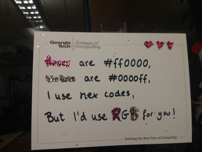 Roses are #ff0000, violets are #0000ff