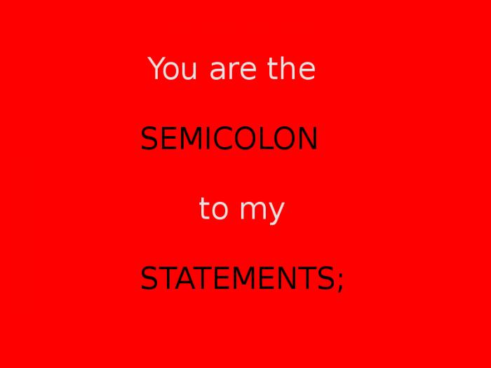 Statement of love <3