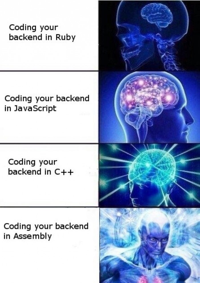 Coding your backend