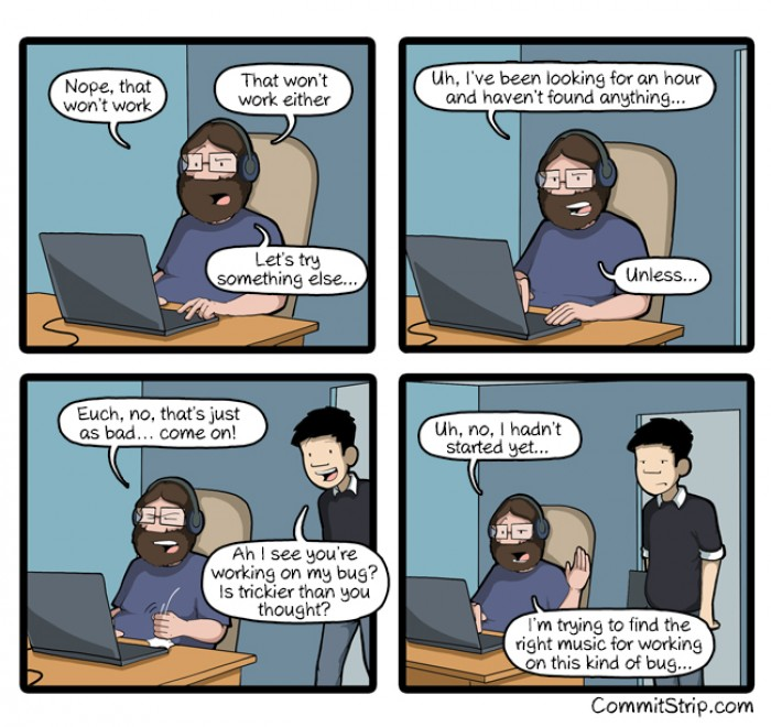 [Commitstrip] On the wrong track