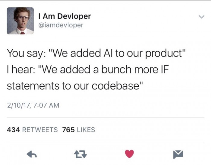 We added AI...
