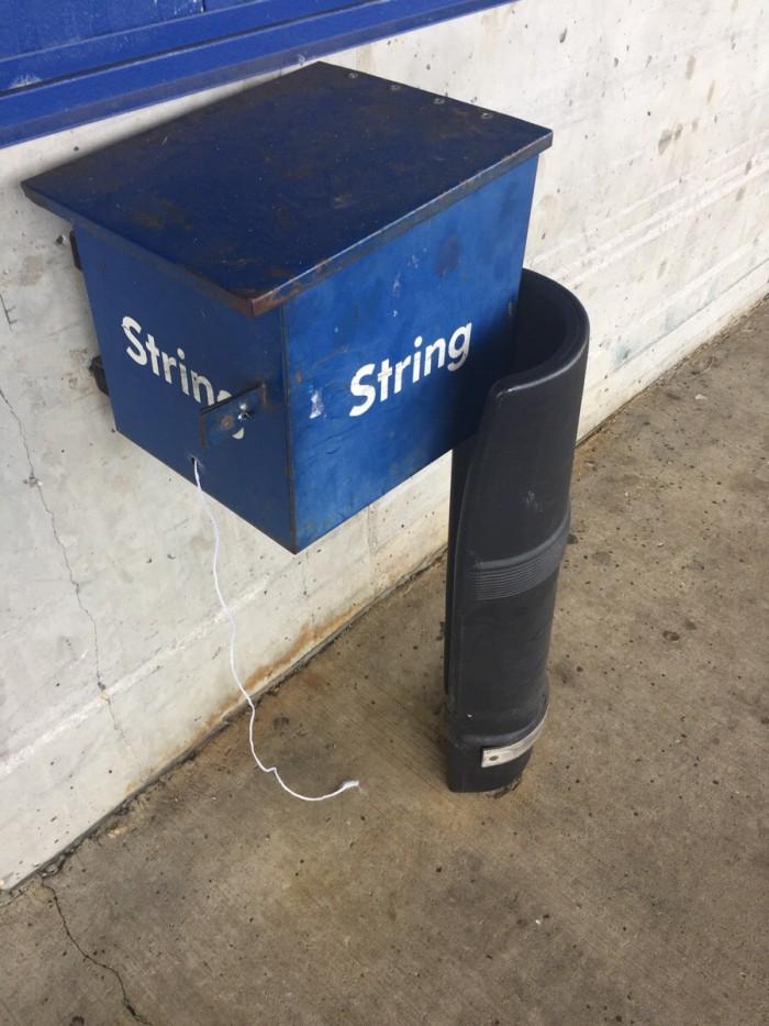 Public String