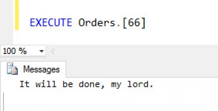 Execute Orders