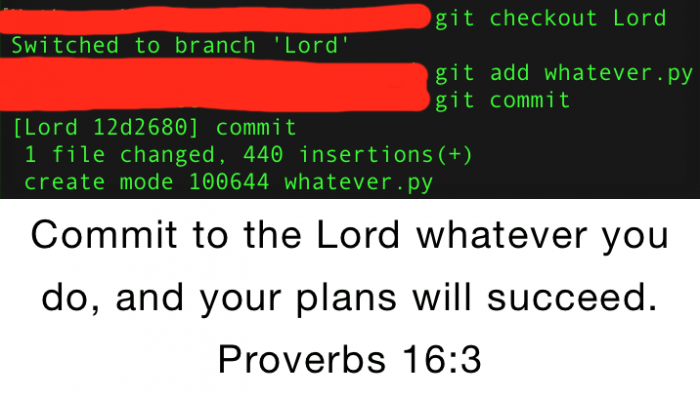 Biblical guide to successful programming