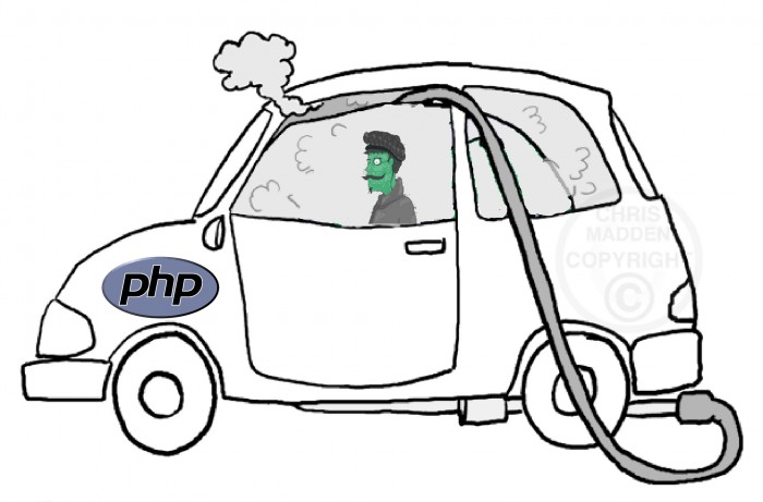 PHP kills you when used wrongly
