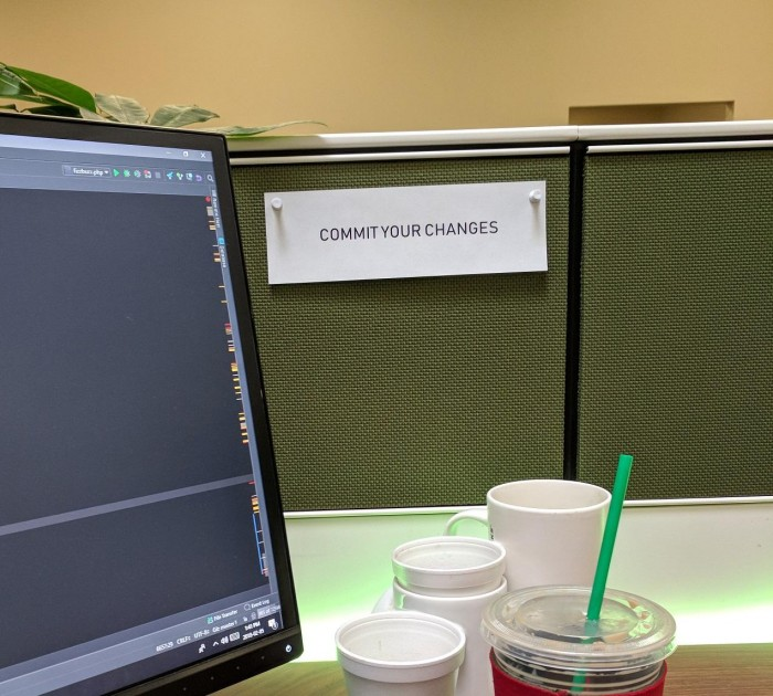 A coworker thought this was an inspirational quote