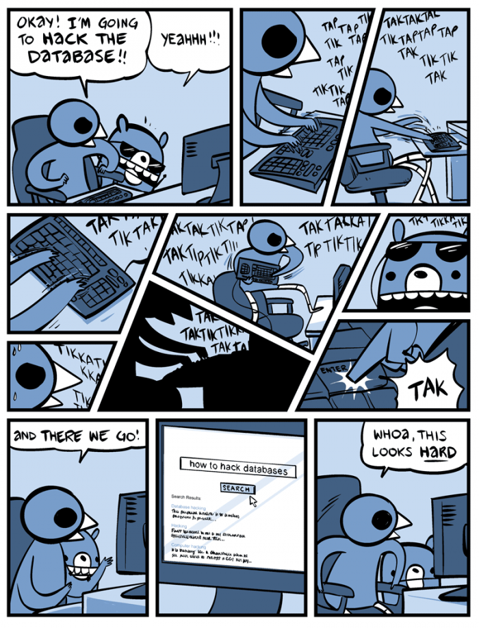 [nedroid] How to hack databases