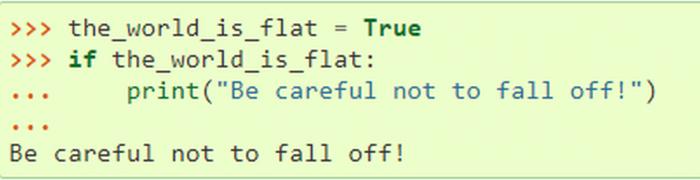 Python spreading lies on their website