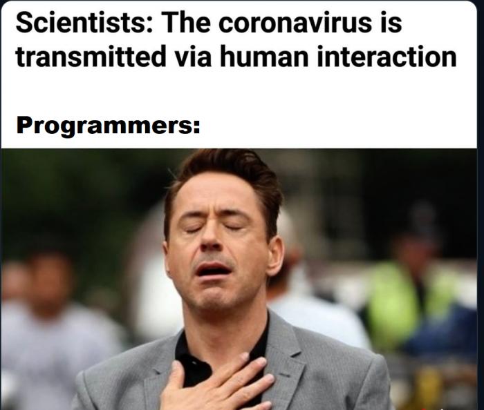 Corona virus vs programmers