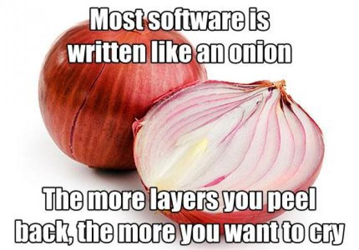 Most software is written like an opinion