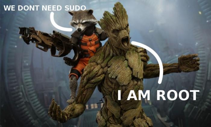 I am root