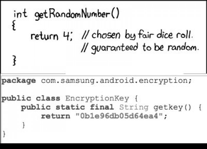 Samsung is a big fan of xkcd (from s6 MtpApplication.apk)
