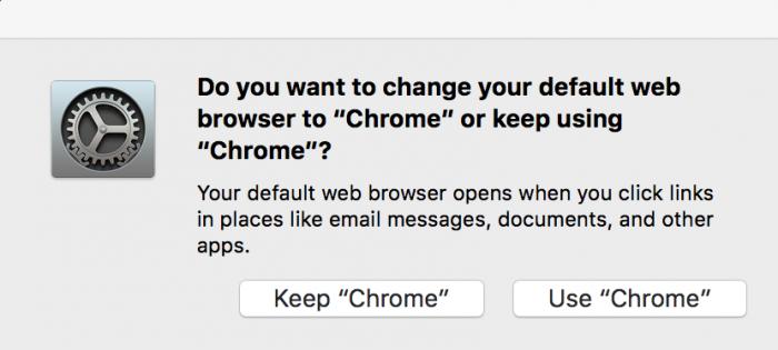 """Do I keep """"Chrome"""" or use """"Chrome""""? Help"""
