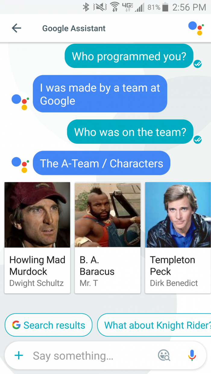 Google Assistant Programmers...
