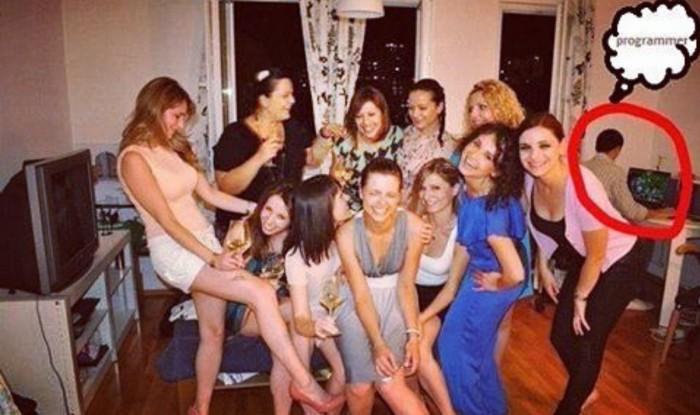 Programmer, parties and women