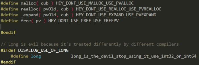 I was just looking at some Valve source code