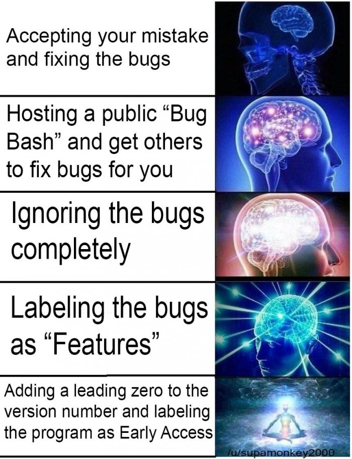 How to remove a bug 101