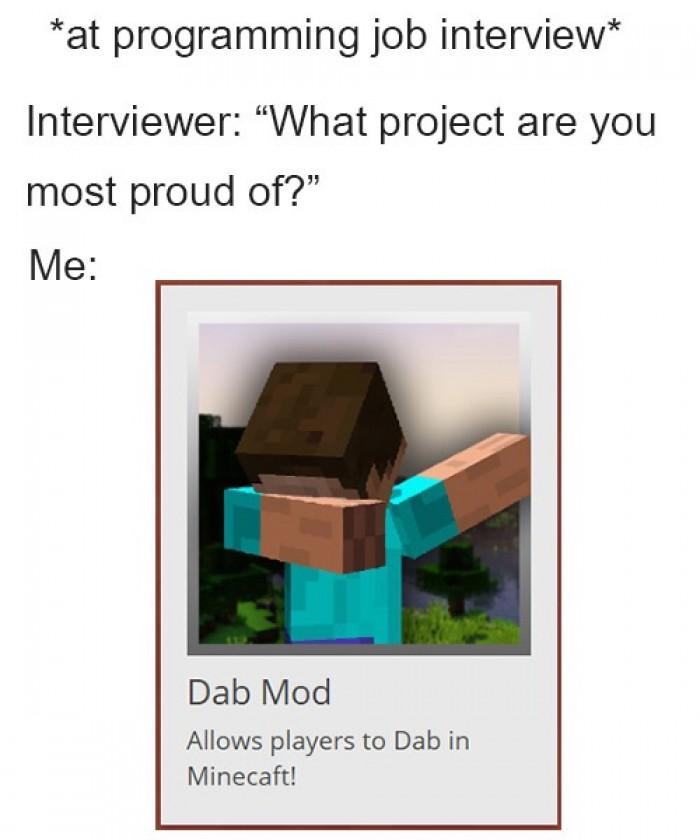 *Dabs*